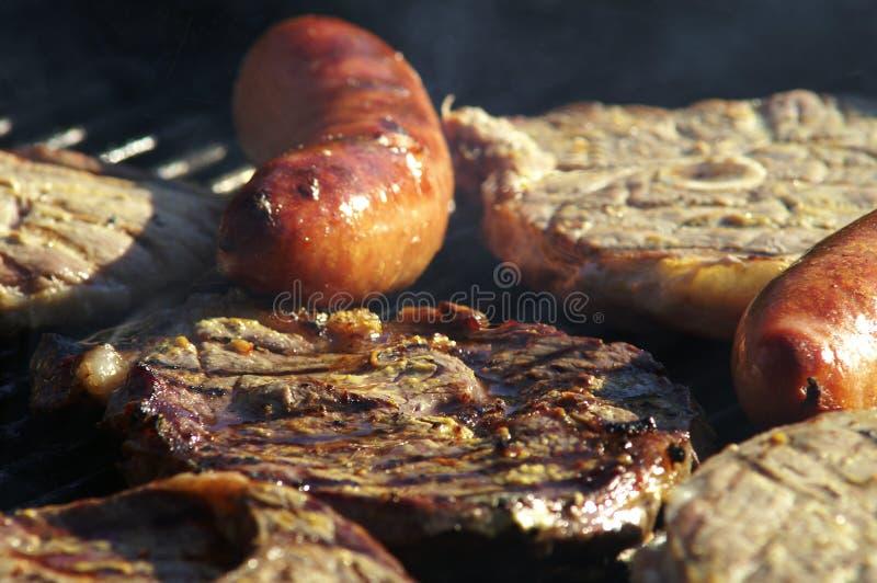 Kotelett do BBQ fotografia de stock royalty free