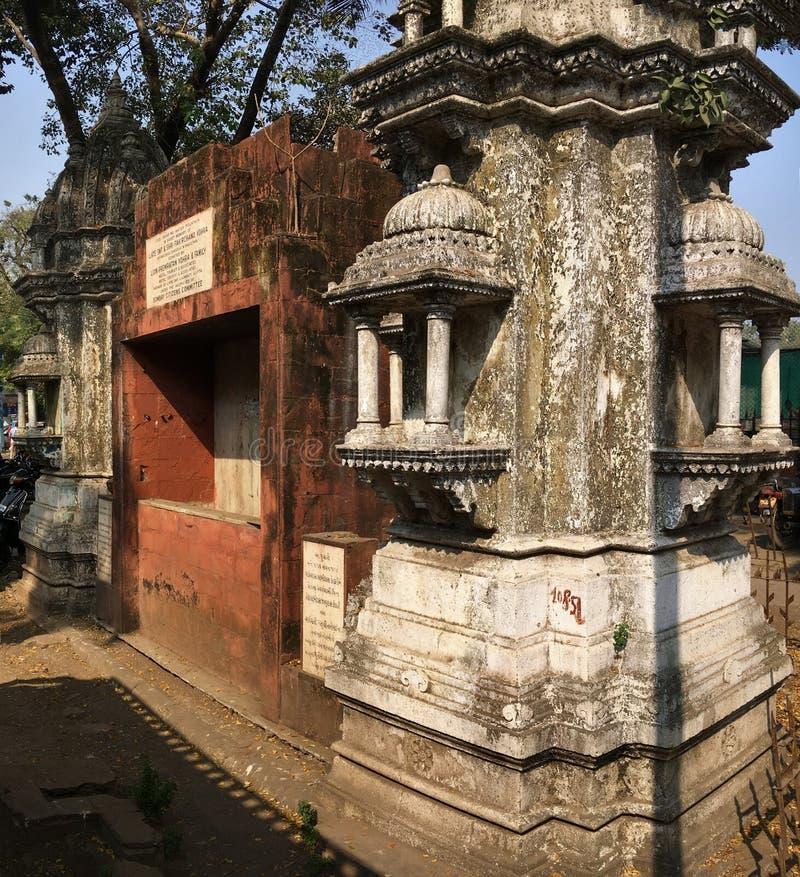 Kothari ornamentado Pyau foi construído em 1913 como uma calha da água para o gado e o cavalar imagem de stock royalty free