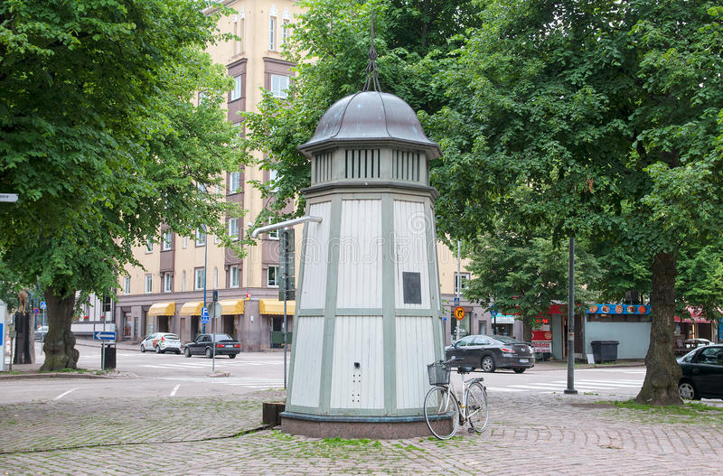 Kotka finland Bomba de água imagens de stock royalty free