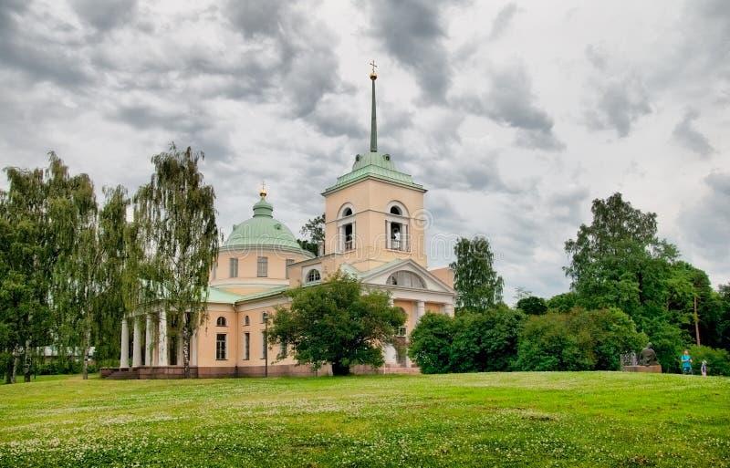Kotka. Finland. Orthodox Church of St. Nicholas royalty free stock image