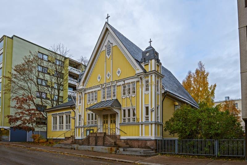 Kotka Free Church stock image