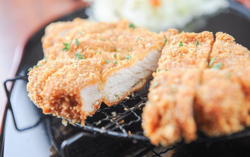 kotlett stekt pork royaltyfri bild