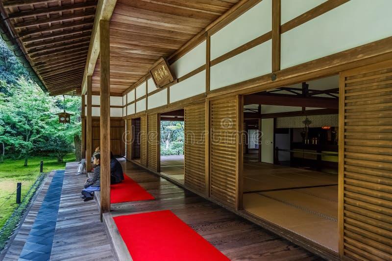 Koto-i templet i Kyoto Japan royaltyfri bild