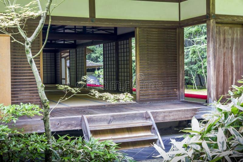 Koto-in tempel in complexe Daitoku -daitoku-ji, Kyoto, Japan stock foto's