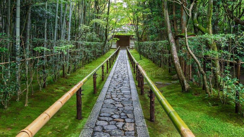 Koto-in Tempel in Kyoto stock foto