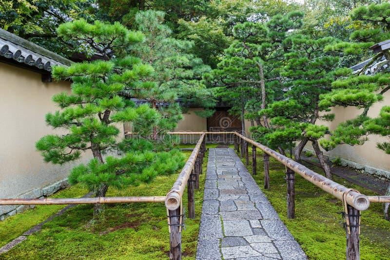 Koto-in Tempel in Kyoto stock foto's