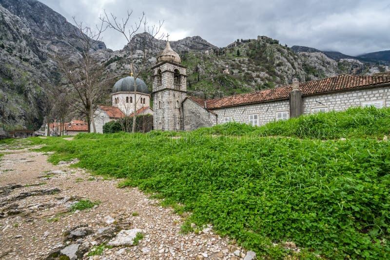 Kotor的圣尼古拉斯教会 免版税库存照片
