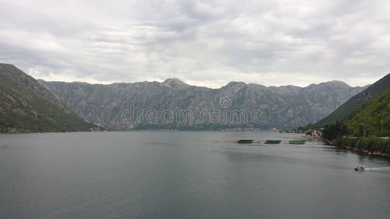 kotor Μαυροβούνιο κόλπων στοκ φωτογραφίες με δικαίωμα ελεύθερης χρήσης