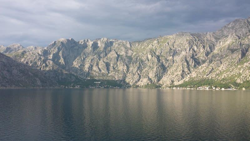 kotor Μαυροβούνιο κόλπων στοκ φωτογραφία