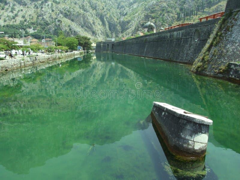 Kotor bay. In Montenegro stock photos