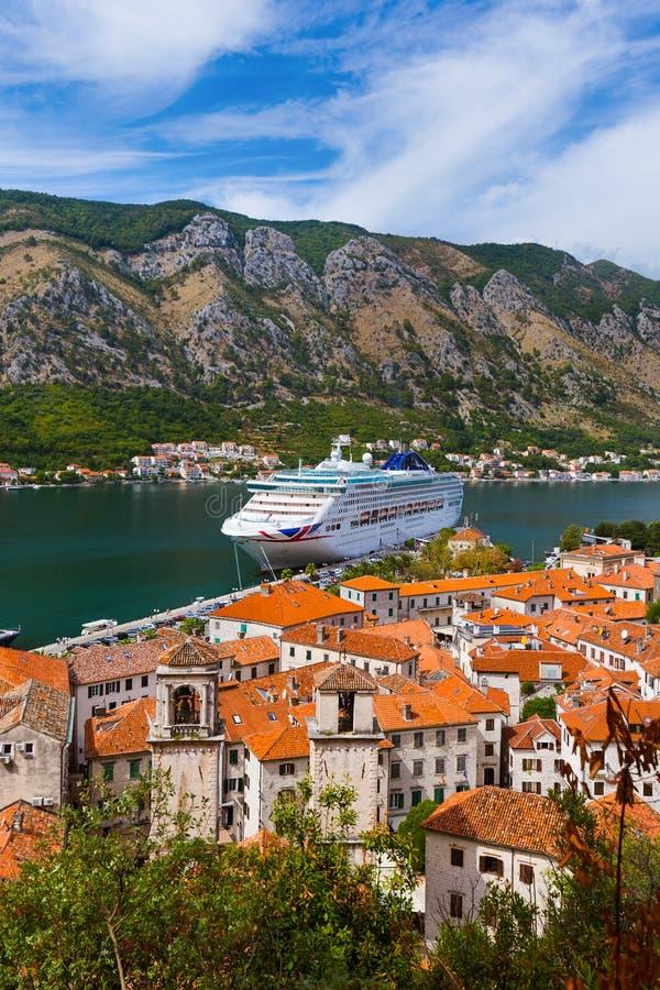 Kotor Bay und Altstadt - Montenegro stockfoto
