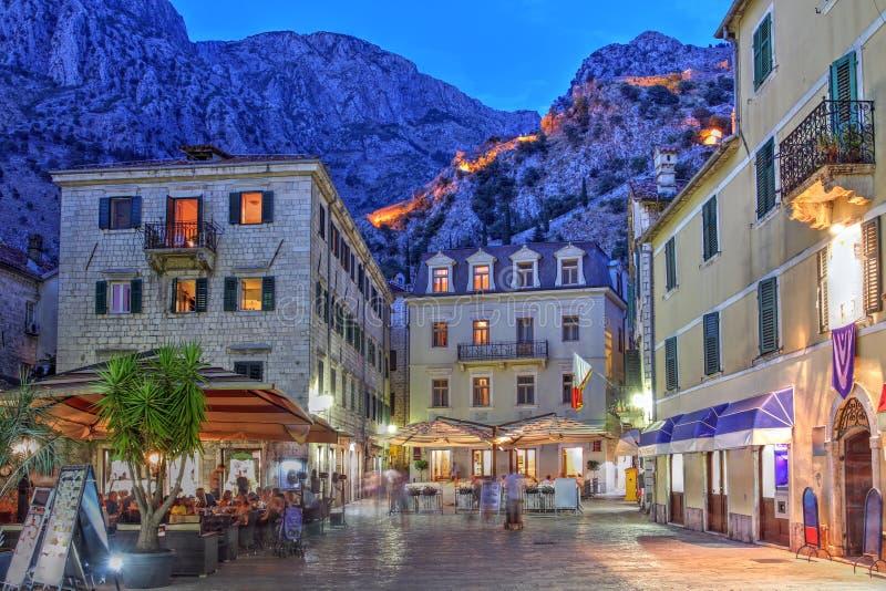 kotor montenegro стоковые фотографии rf