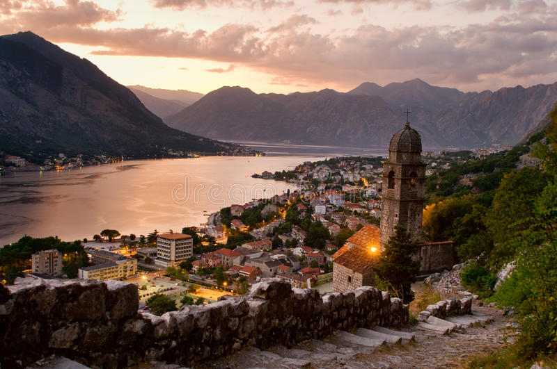 Kotor Montenegro stock photos