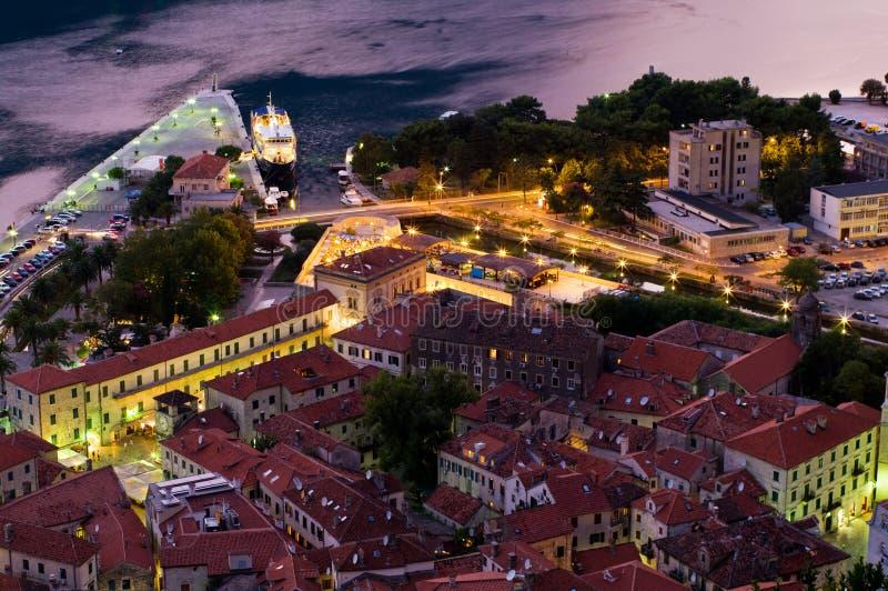Kotor Montenegro imagem de stock