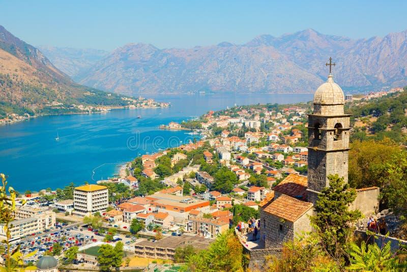 Kotor montenegro royalty-vrije stock afbeelding
