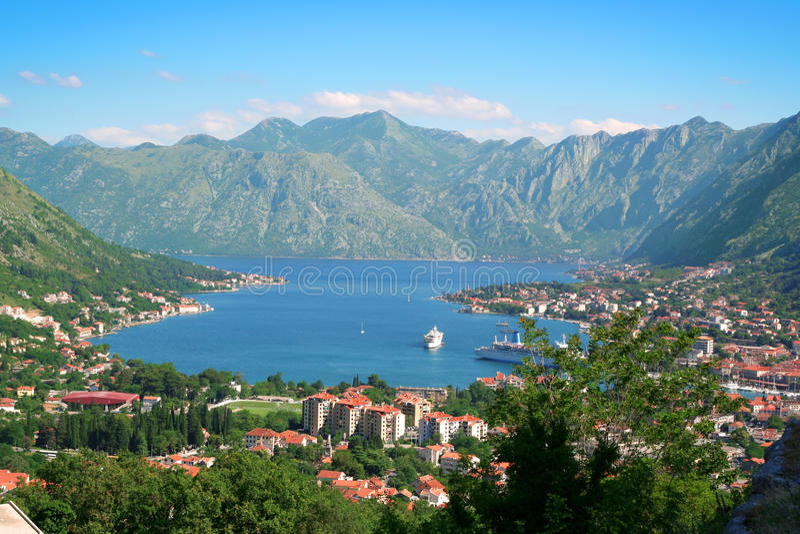 Kotor, Montenegro. fotografia stock libera da diritti