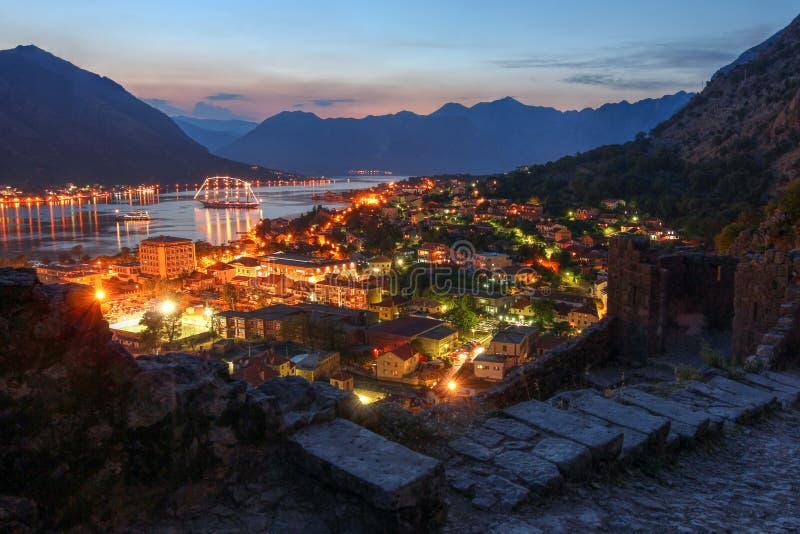 Kotor, Montenegro imagens de stock