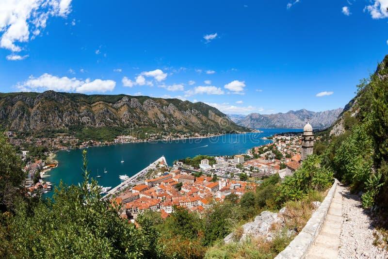Kotor in Montenegro stockbild
