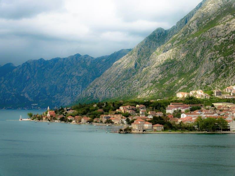 kotor montenegro стоковое изображение