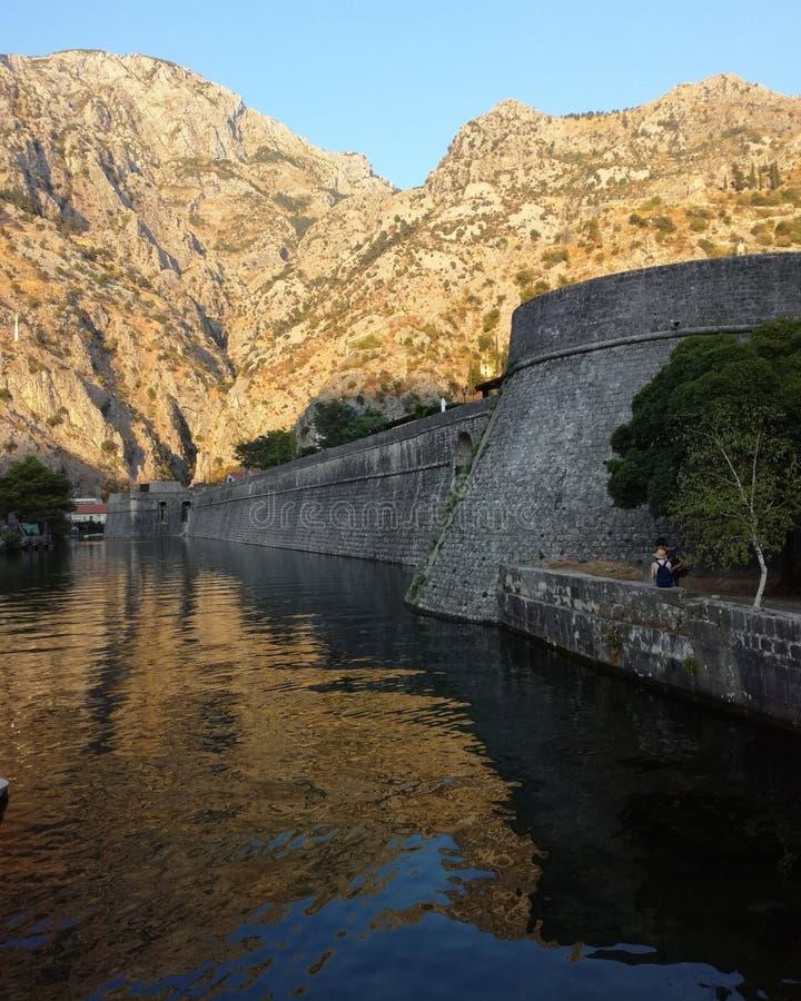kotor montenegro 免版税库存图片