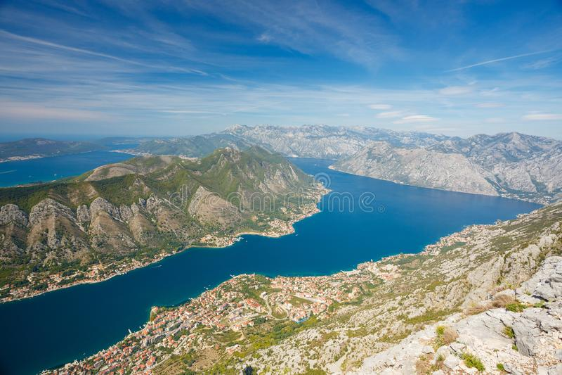 Kotor, Montenegro fotografie stock