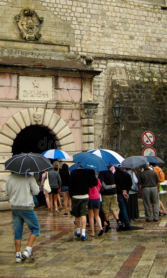 Free Kotor Old Town Entrance Royalty Free Stock Photography - 127486057