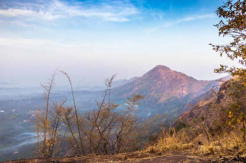 Kottapara hillsKottappara ViewPoint is the newest addition to tourism in Idukki district of Kerala. Kottapara is just about 2 km from Vannapparum town, towards stock image