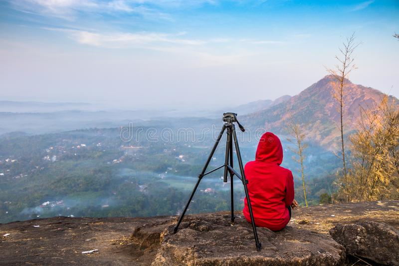 Kottapara hillsKottappara ViewPoint is the newest addition to tourism in Idukki district of Kerala. Kottapara is just about 2 km from Vannapparum town, towards royalty free stock photography