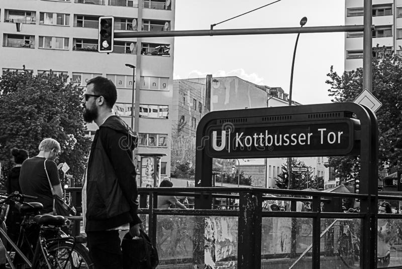 Kottbusser Tor royalty free stock photos