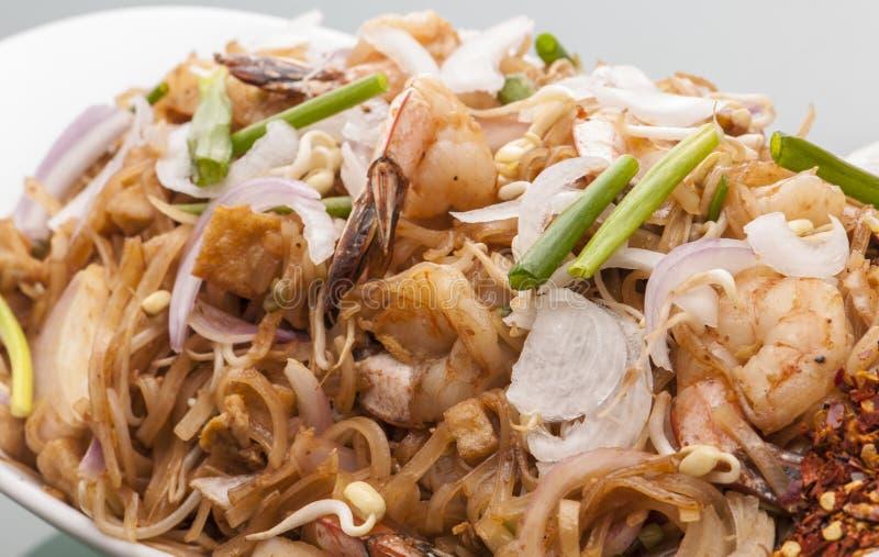 Kottu rotie Ασιάτης Seefood στοκ εικόνες