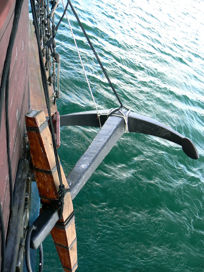 kotwica statków zdjęcie royalty free