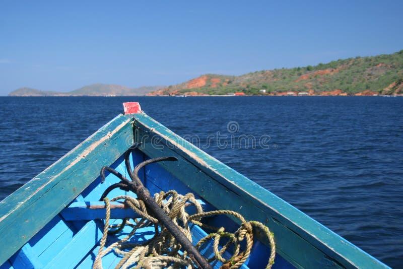 kotwicowa łódź. zdjęcie royalty free
