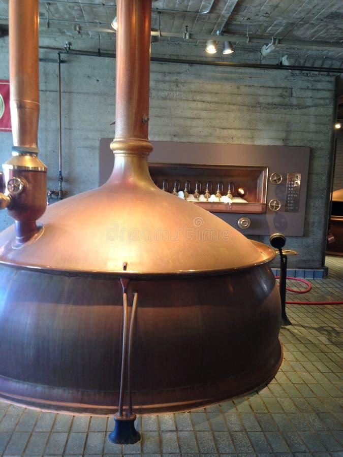 Kotwicowy piwowarstwo, inside i out stary rzemiosło browar, 10 zdjęcie stock