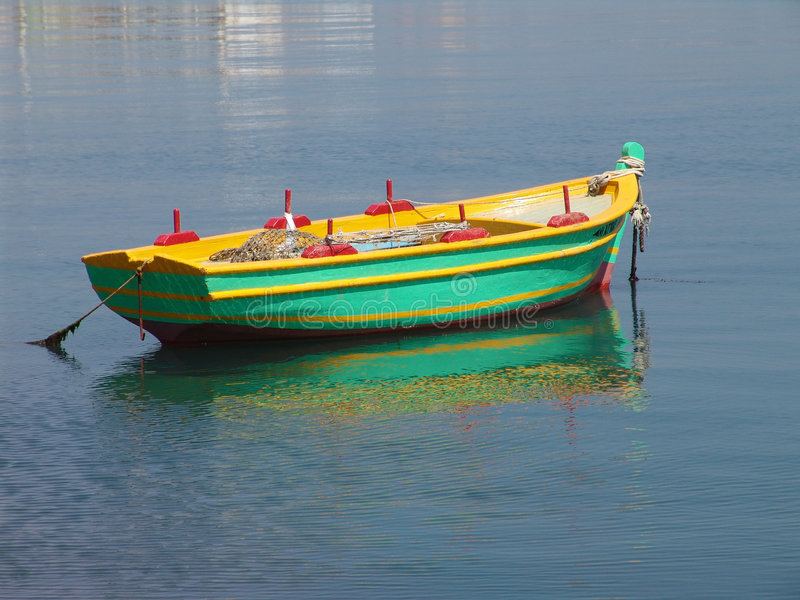 kotwicowy połowowych łodzi obrazy royalty free