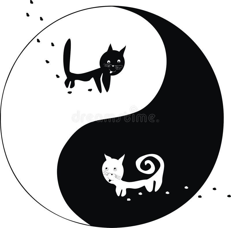 koty Yang ying obrazy royalty free