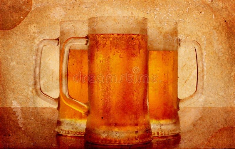 Koud bier royalty-vrije stock afbeeldingen