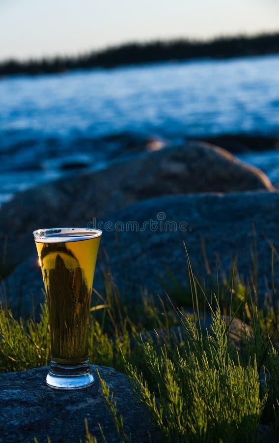 Koud bier royalty-vrije stock fotografie