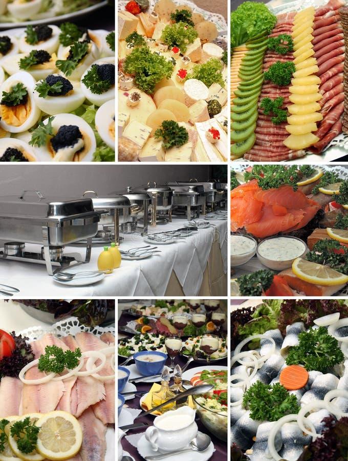 Koud buffet royalty-vrije stock afbeeldingen