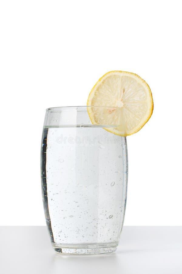 Koud waterglas royalty-vrije stock afbeeldingen