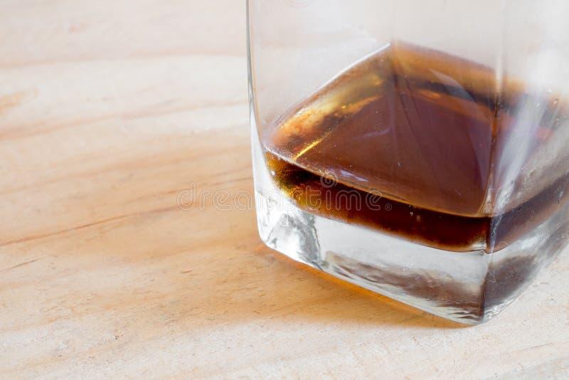 Koude frisdrank in glas royalty-vrije stock foto's