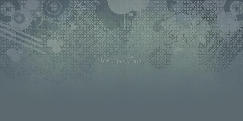 Koude het ontwerpachtergrond van Grunge royalty-vrije illustratie