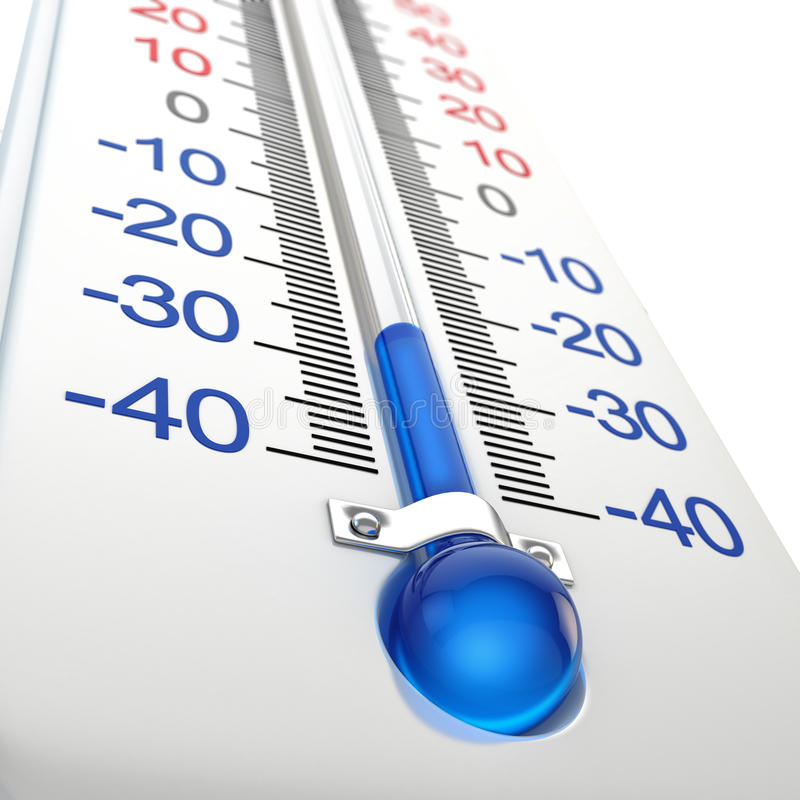Koude thermometer