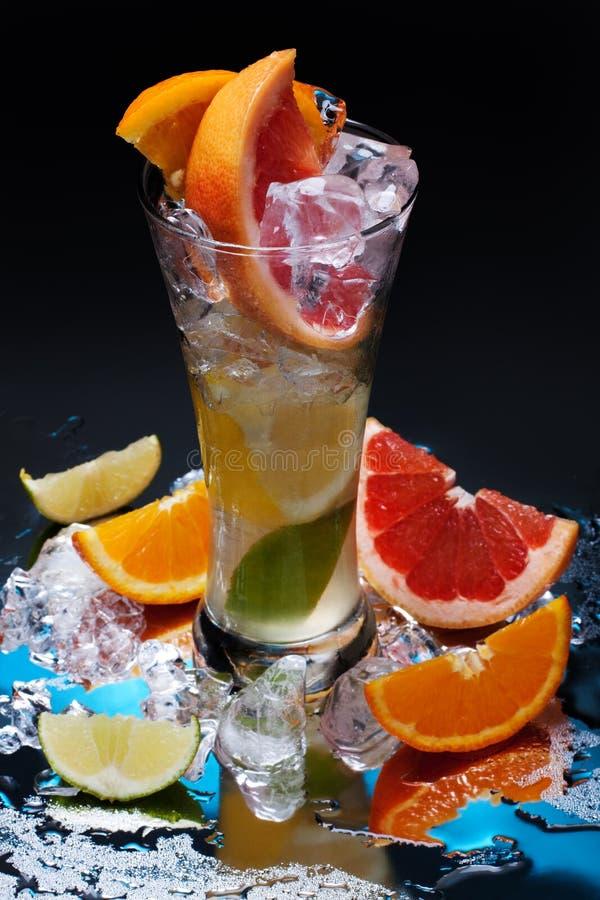 Koude verse limonade royalty-vrije stock fotografie