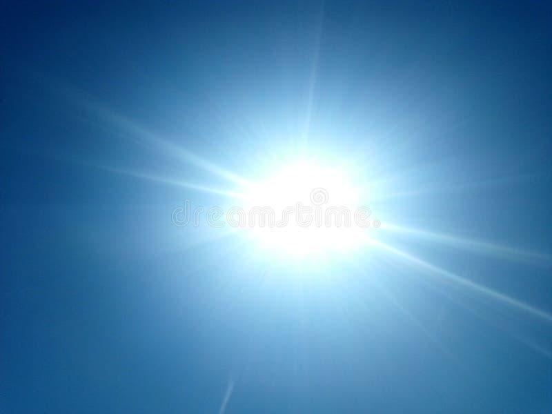 Koude zon stock afbeeldingen