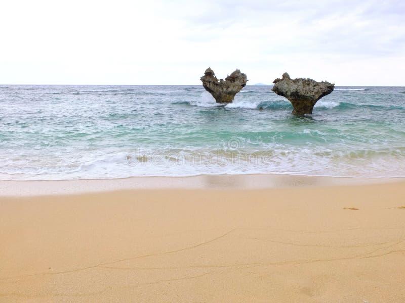 Kouri-Herz-Felsen stockbild