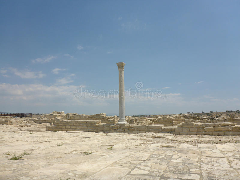 Kourion royaltyfri foto