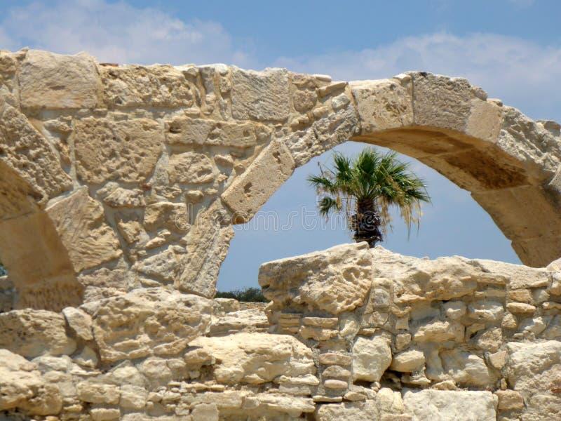 Kourion royaltyfri fotografi