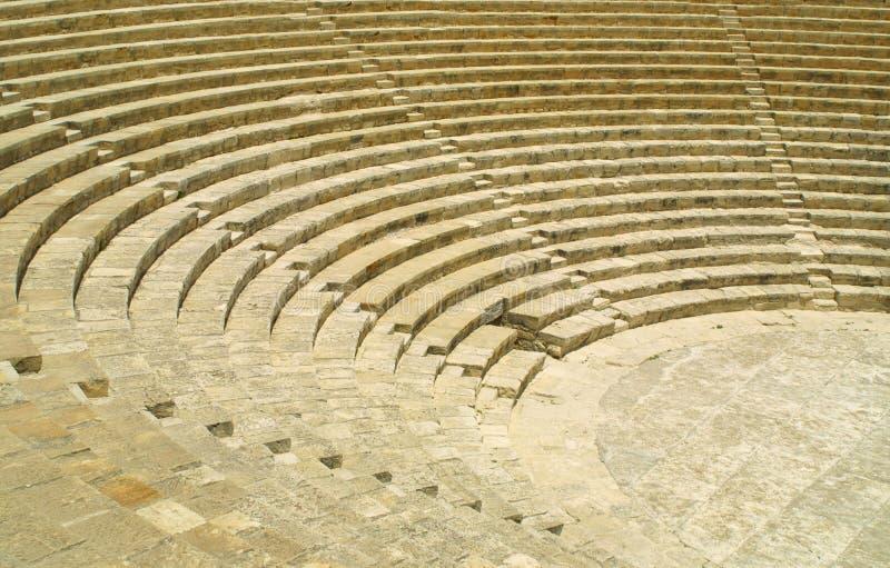 kourion antyczny theatre obraz royalty free
