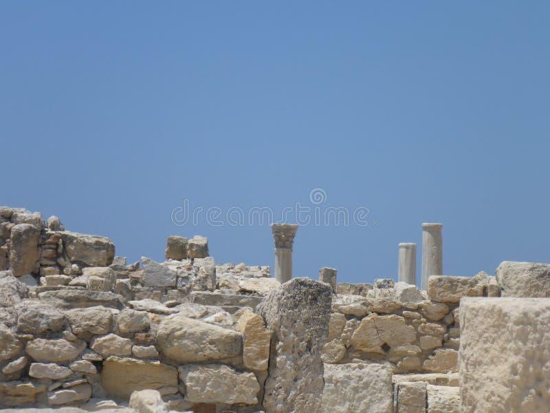 Kourion Cypern arkivfoton