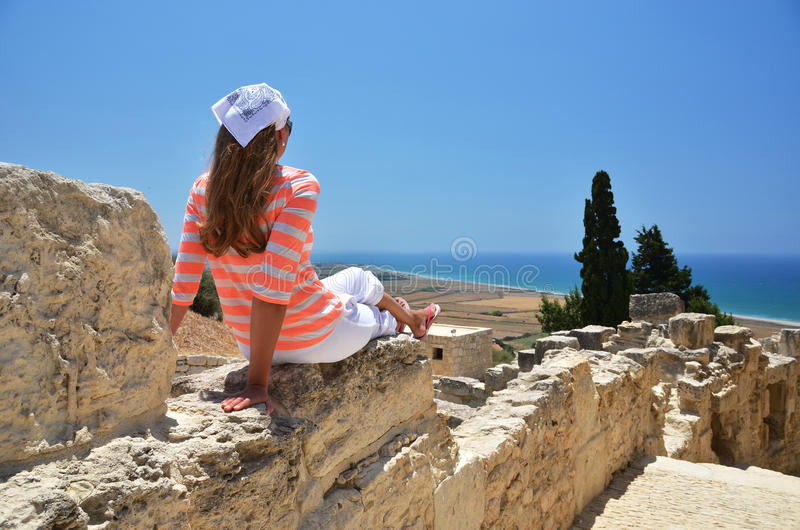 Kourion en Chypre photos stock
